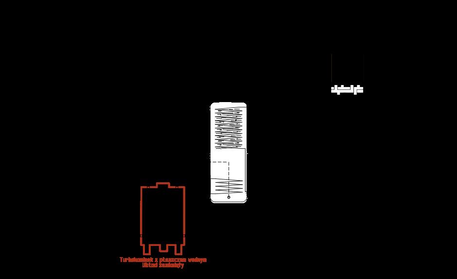 Turbokominek UZ + pompa ciepła split + kolektor słoneczny + bufor ciepła